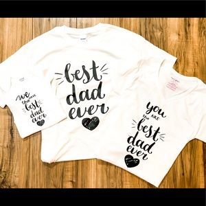 Best *dad* ever T-shirt for all sizes new